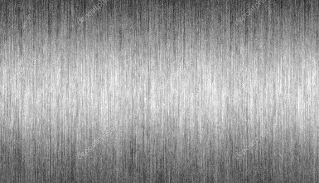Pattern of Brushed metal background. metal plate template — Stock Photo #9262700
