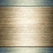 Szczotkowanej blachy szablon tło — Zdjęcie stockowe