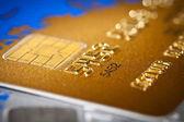 Kreditní karty — Stock fotografie