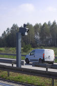 Traffic Speed Camera. Police radar. — Stock Photo