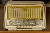Radio molto vecchia. radio d'epoca — Foto Stock
