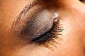 Woman eye makeup — Stock Photo