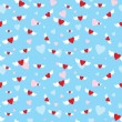 Royalty-Free Stock Vector Image: Seamless with hearts