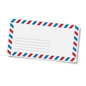 Blank mailing envelope — Stock Vector