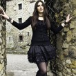 Goth girl — Stock fotografie