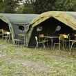 The military camp — Stock Photo