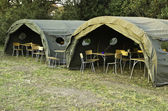 The military camp — Stockfoto