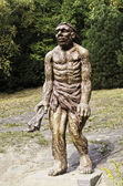 A figura de um humanóide — Foto Stock