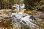 Mumlavsky waterfall — Stock Photo