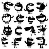 смешные животные — Cтоковый вектор