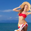 Curvaceous woman in bikini — Stock Photo #10244994