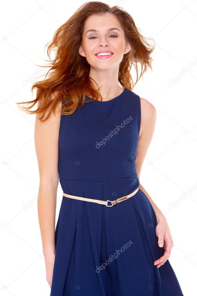 К чему снится женщина в голубом платье