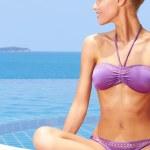 Glamorous Woman In Bikini — Stock Photo #9948625