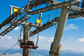 Ropeway on mount Savin Kuk. National park Durmitor, Montenegro — Stock Photo
