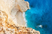 Landscape design. White sand beaches and crystal blue wate — Stock Photo
