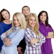 Group of happy friends smiling — Stock Photo #9259661
