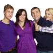 Group of happy friends smiling — Stock Photo