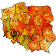 Lower silesian region — Stock Photo