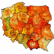 Lesser poland region — Stock Photo
