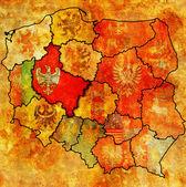 Wielkopolskie regio — Stockfoto
