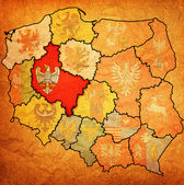 Região de wielkopolskie — Foto Stock