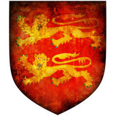 Basse normandie coat of arms — Stock Photo