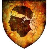 Corsico coat of arms — Stok fotoğraf
