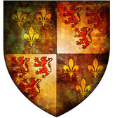 Picardie coat of arms — Stock Photo