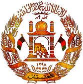 Escudo de afganistán — Foto de Stock