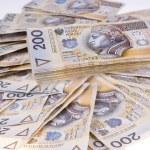 Polish money two hundred zlotys — Stock Photo #8686620