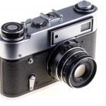 Vintage camera — Stock Photo #9660383