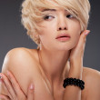 Hot young woman — Stock Photo