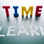 öğrenmek için zaman — Stok fotoğraf