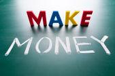 Yapmak para kavramı — Stok fotoğraf