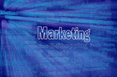 Marketing concept with internet related words — Stock Photo
