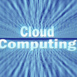 Cloud computing concept — Stock Photo #9718224