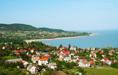 Little village at Lake Balaton, Hungary — Stock Photo