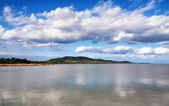 Panorama to Lake Balaton,Hungary — Stock Photo