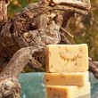 Stock Photo: Handmade soap still life (lavender)