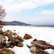 Stock Photo: Lake Balaton in winter time,Tihany,Hungary