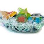 Gift. Domestic soap — Stock Photo