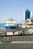 The seaport — Stock Photo