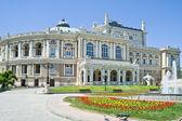 şehir odessa'da bir opera tiyatro — Stok fotoğraf