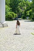 Bride departs — Stock Photo