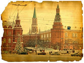 Under old times. Kremlin — Stock Photo