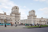 Minsk, the urban view — Stock Photo