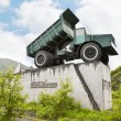Twenty-five-ton truck — Stock Photo