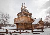 Village is Kolomenskoye — Stock Photo