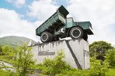 Twenty-five-ton truck — Stock Photo