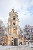 Novospassky friary — Stock Photo